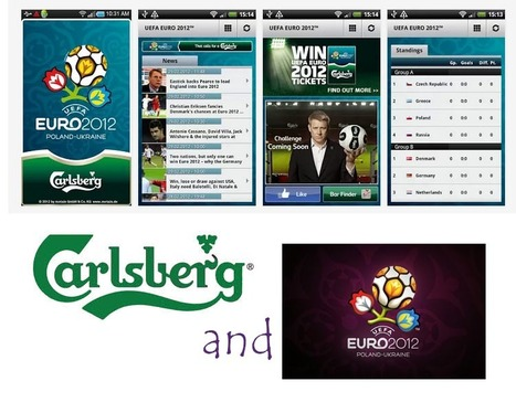 Carlsberg's mobile app for euro 2012. Isn't that something great? | Interesting thoughts - Brand Entertainment | Scoop.it