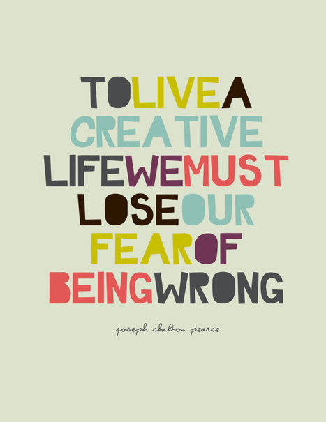 to live a creative life - By Brené Brown | Developing Creativity | Scoop.it