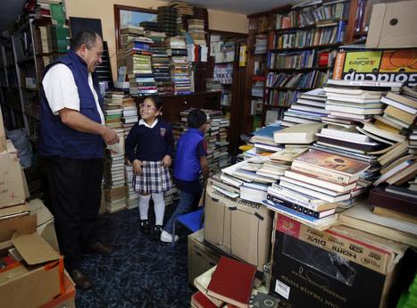Deze Colombiaanse vuilnisman spaarde een bibliotheek van 20.000 boeken bij elkaar | Librarysoul | Scoop.it