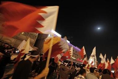 Bahrain activists recreate roundabout protest at nightly rallies | Reuters | Human Rights and the Will to be free | Scoop.it