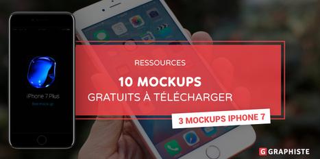 10 Mockups gratuits à télécharger - Graphiste.com   Web Increase   Scoop.it