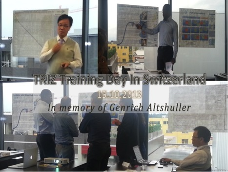 In Memory of Genrich Altshuller's birthday, Let's celebrate TRIZ | Certification Training | Scoop.it