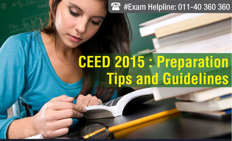 CEED 2015: Preparation Tips and Guidelines | JEE Main 2015 | Scoop.it