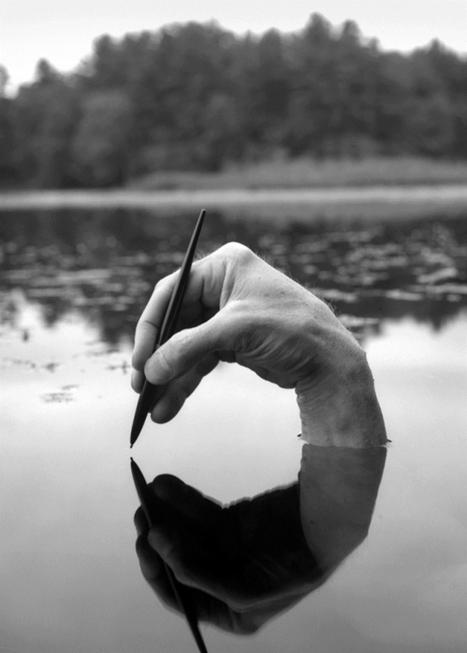 Autorretrato con pluma fuente | I didn't know it was impossible.. and I did it :-) - No sabia que era imposible.. y lo hice :-) | Scoop.it