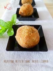 Polpettine fritte di tonno, patate e capperi | La Cucina Italiana - De Italiaanse Keuken - The Italian Kitchen | Scoop.it