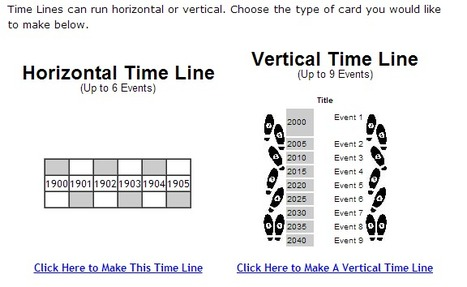 Time Line Maker | Tools for Classroom or Personal Use | Scoop.it