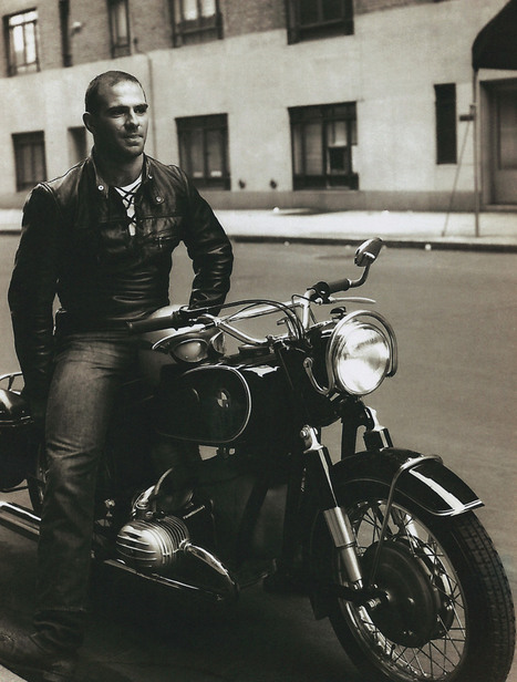 Oliver Sacks on a motorcycle in 1961 | What's going on in the world? | Scoop.it