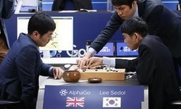 AlphaGo beats Lee Sedol in third consecutive Go game | Global Brain | Scoop.it