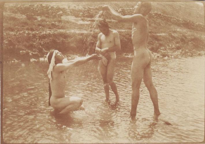 A Trio of Vintage Nude Males | Sex History | Scoop.it