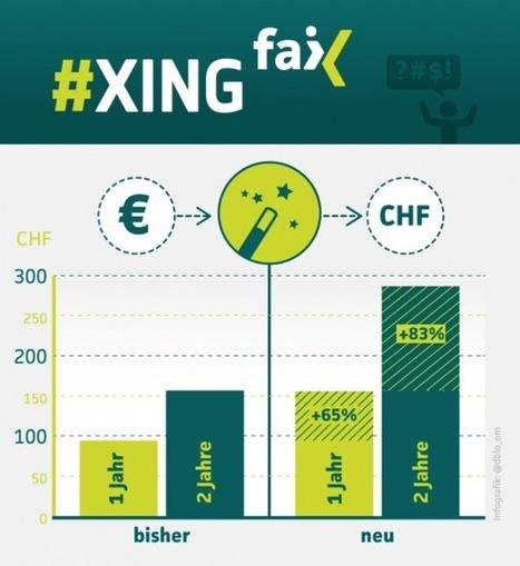 Xing erhöht Abokosten für Schweizer | #XINGfail | Scoop.it