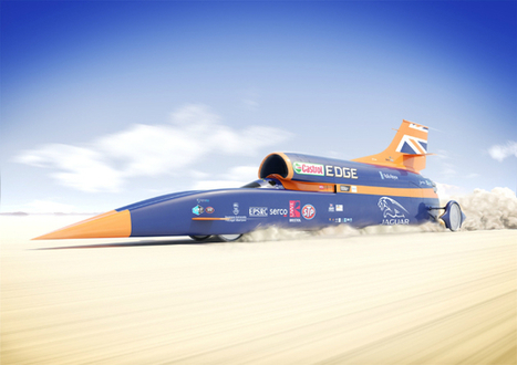 The '1,000mph' Bloodhound car is so fast it needs to be bulletproof | Heron | Scoop.it
