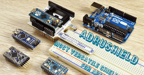 ArduSHIELD  most universal shield for ARDUINO ever | Arduino, Netduino, Rasperry Pi! | Scoop.it