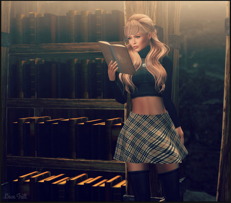 Hitting The Books | 亗 Second Life Freebies Addiction & More 亗 | Scoop.it