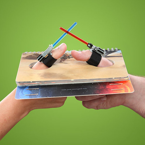 'Star Wars' lightsaber thumb-wrestling goes to the digit side | All Geeks | Scoop.it