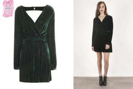 Daily Buy: The Emerald Green Velvet Playsuit | StyleCard Fashion Portal | StyleCard Fashion | Scoop.it