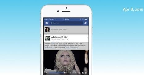 Les Pages Facebook Vérifiées peuvent être monétisées avec du contenu sponsorisé | Social Media Curation par Mon Habitat Web | Scoop.it