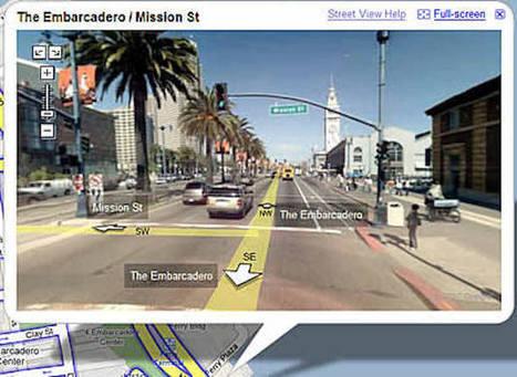 Google Map : faites défiler votre itinéraire sur Google Street View - 1001actus | Cartographie interactive | Scoop.it