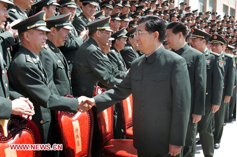 President Hu stresses armed forces' loyalty to Party - Xinhua | English.news.cn | Comparative Government and Politics | Scoop.it