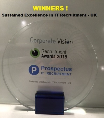 A WINNER in the Recruitment Awards 2015 - Prospectus | MultiValue News | Scoop.it