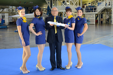 Skymark Introduces Mini-dresses for Stewardesses and Opens the Door for ... - Car Rentals   Sex Marketing   Scoop.it