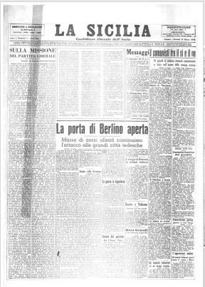 La Sicilia - Archivio Storico | Généal'italie | Scoop.it