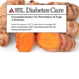 Turmeric Extract 100% Effective At Preventing Type 2 Diabetes, ADA Journal Study Finds | Natural Healing, Holistic Healing College | Scoop.it