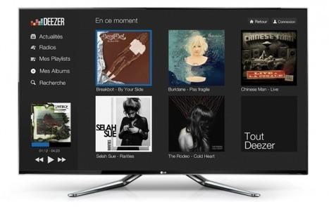 Deezer débarque sur les TV connectées | Radio 2.0 (En & Fr) | Scoop.it