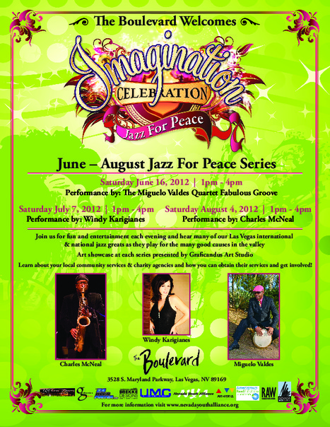 Nevada Youth Alliance - Imagination Celebration: Jazz For Peace Series - rictandag   Yellow Boat Social Entrepreneurism   Scoop.it