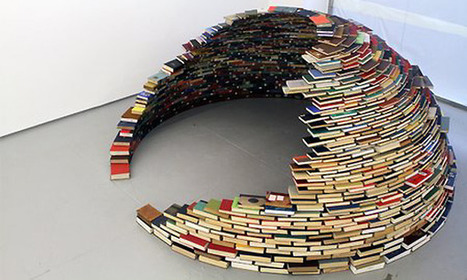 TrendsNow | Inspiration > Igloo made of books | Skolebibliotek | Scoop.it