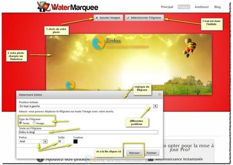 WaterMarquee protéger vos photos contre le vol et la copie | Je, tu, il... nous ! | Scoop.it