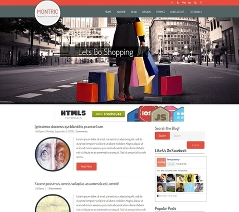 25 Best Free Blogger Templates 2015 - Developers Feed | Content Creation, Curation, Management | Scoop.it