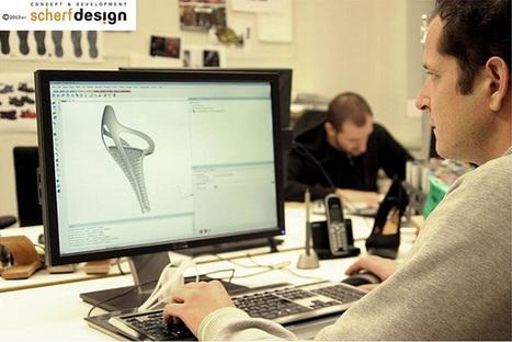 These Heels Were 3D Printed for Walking - 3D Printing Industry | 3D Printing | Scoop.it