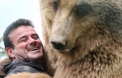 Pradinas: Jean-Philippe Roman et ses ours crèvent l'écran | L'info tourisme en Aveyron | Scoop.it