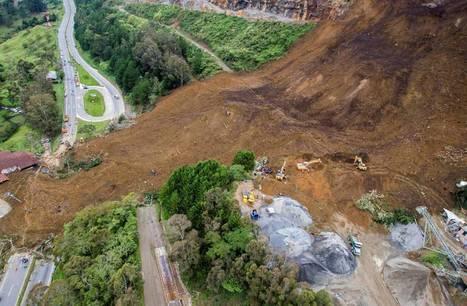Un alud en la autopista Medellín-Bogotá deja al menos seis muertos | CTMA | Scoop.it