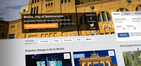 Tourist suggestions crowdsourced from social media trends in real time | Breakthrough Innovation | Scoop.it