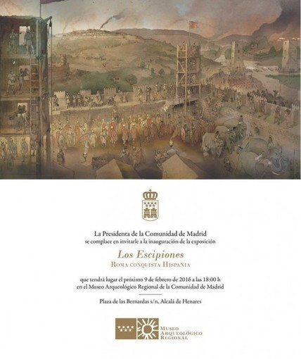 "El Museo Arqueológico Regional de Madrid inaugura la exposición ""Los Escipiones. Roma conquista Hispania"" 
