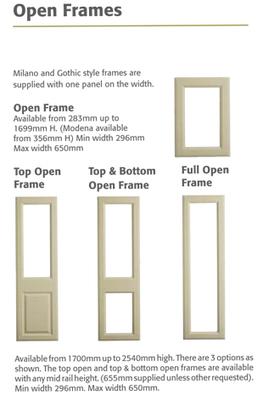 kitchen cabinet door fronts with glass | Google | Scoop.it