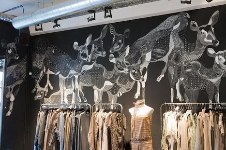 Influencia - Tendances - Quand les magasins s 'improvisent galeries d'art contemporain | Decoration aménagements commerciaux et professionnels, cosa&faits | Scoop.it