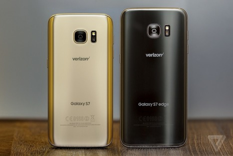 Samsung's new Galaxy S7 phones are beautiful | An Eye on New Media | Scoop.it