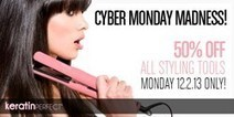 KeratinPerfect.com Reveals Cyber Monday Deal: 50% off on All Hair Styling Tools - Virtual-Strategy Magazine (press release) | Lebanese Hair Salons | Scoop.it