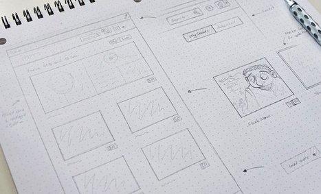 Custom Grid Design for Structured Website Mockups | Bazaar | Scoop.it