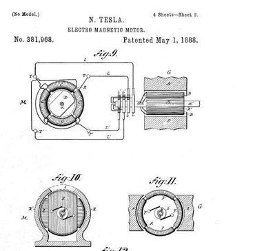 Tesla and His Induction Motor