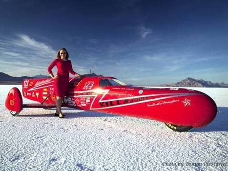 World's fastest female motorcyclist: 'I'm on a quest for 300mph' | Women and cars | Scoop.it