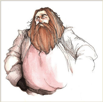 Pottermore Insider: Characters – Hagrid | Young Adult and Children's Stories | Scoop.it