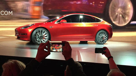 Tesla throws cold water on its own hype by admitting huge risks in building the Model 3 | Sustainability Science | Scoop.it