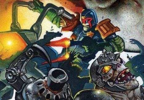 Simon Bisley Returns To '2000 AD' After 22 Years | Comic Books | Scoop.it