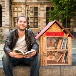 Bosgroet 4: Kleine huisjes met boeken | trends in bibliotheken | Scoop.it