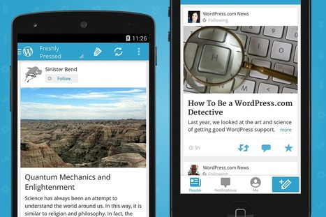 The New iOS and Android Apps Have Arrived! — Blog — WordPress ... | YourMacShow | Scoop.it
