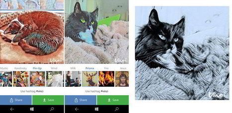 Vinci, l'alternative à Prisma sur Windows Phone - Blog du Modérateur | Applications & Co | Scoop.it