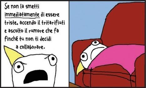 La depressione disegnata - Il Post | Dario De Gennaro | Scoop.it